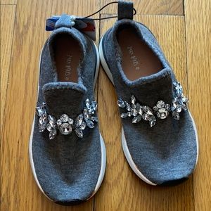 Rhinestone Jeweled slip-on sneakers
